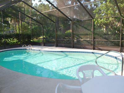 Enclosed Pool Area