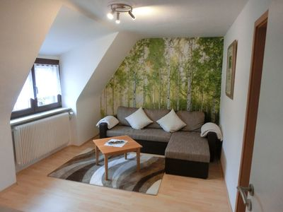 Cheap apartment near the fair for families and business people.