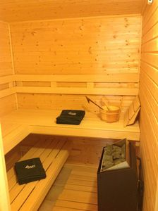 Sauna in Master Bathroom