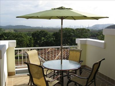 Big Balcony w/ Views of the Golf Course, Canal, Panama City Skyline & Rainforest