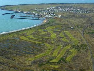 South Iceland house photo - The village and the 18 hole golf course