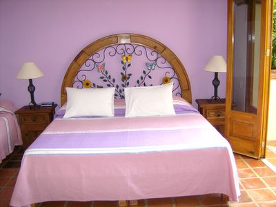 Puerto Vallarta villa rental - Poolside Rooms 2 and 3 have King and Twin beds