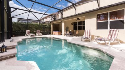 Disney Luxury 5* Five Bedroom Pool Home With Hot Tub Sleeps 10