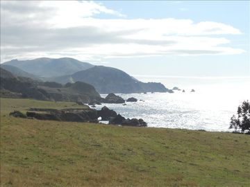 Big Sur cabin rental - View from the entrance to our canyon- spectacular vistas- beaches- and dining.
