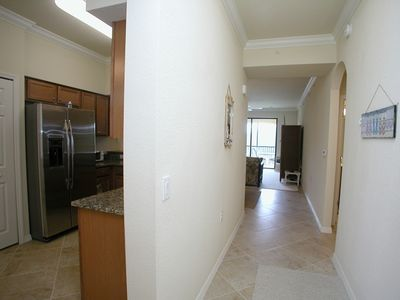 Foyer - leads to kitchen and living room