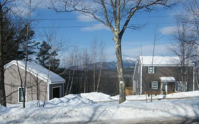 Four season rental. The Mt. Washington Valley is beautiful year-round.