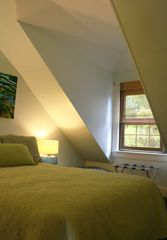 Bar Harbor house photo - Bedroom #5 - Full bed, serene and quiet with own bath