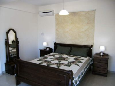 Master bedroom of Villa Nishita in Ayia Napa