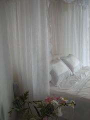 Manuel Antonio villa photo - Luxurious linens, ocean view from your pillows, hear the waves!