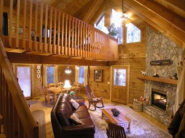 The Treehouse Living Area