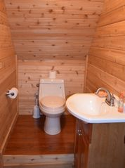 Lake Placid cabin photo - 1/2 Bath