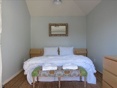 Queen bedroom adjacent to spa