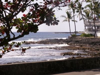 Kailua Kona studio rental - In town accross from the ocean on Alii Dr.