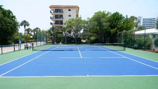 Siesta Key condo photo - tennis court