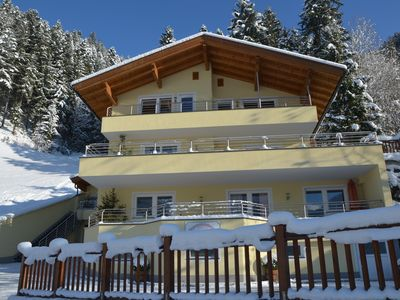 Apartments with stunning panoramic views of the ski resort of Mayrhofen