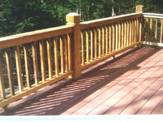 Newfound Lake house photo - 12 X 25 Composite deck new April 2010 great for barbaque