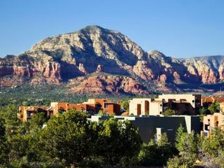 Sedona condo photo - View of Property with Sedona Landscape at the Sedona Summit Resort