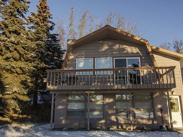 Soldotna house rental - Front of Suite and Deck