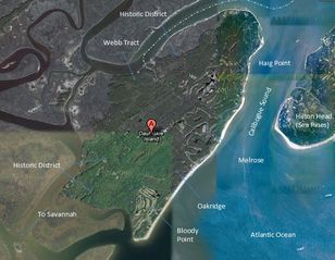 Daufuskie Island villa photo - Aerial Map