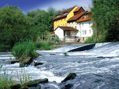 An historic mill by the Saale River - Biberburg