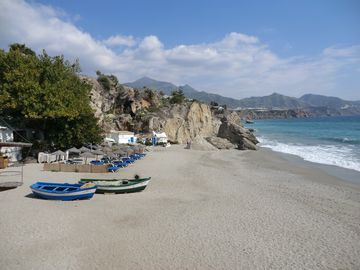 Calahonda beach - closest to the Balcon