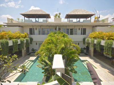 Overview of both of our villas - 2 x 2 bedroom villas