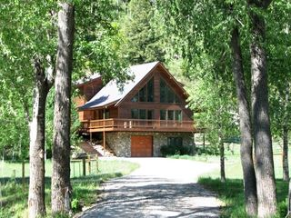 Durango house rental - Durango Mountain Chalet (up through private driveway)