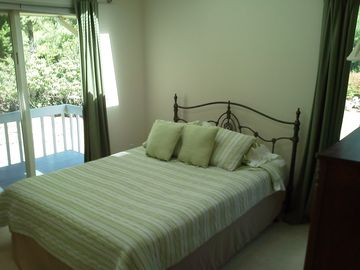 Recent updates include paint and new linens in the bedrooms.