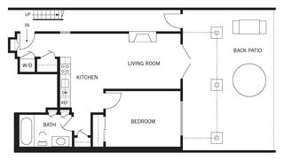 San Francisco apartment photo - floorplan