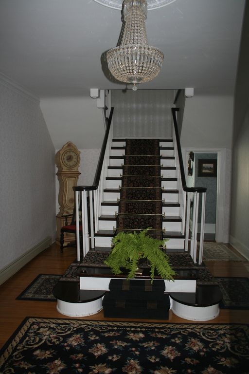 Main foyer and stairs to 2nd floor