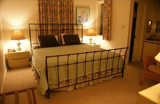 Virginia Beach condo photo - Bedroom 1, King Bed, Full Ensuite