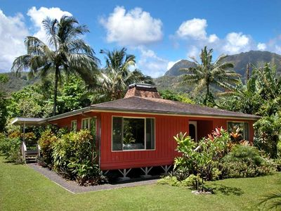 5 minute walk to tunnels beach mountain vrbo for Hawaii home building packages