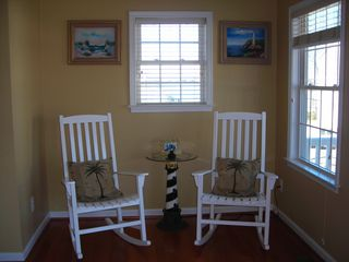 South Island Villas Ocean City townhome photo - Reading Nook