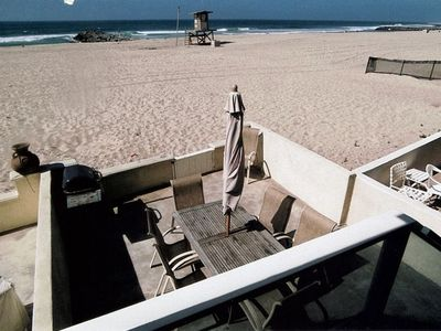 EXCLUSIVE USE OF BEACHSIDE PATIO