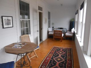 Damariscotta house photo - Front porch