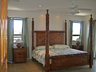 Nosara villa photo - Master bedroom opens to terrace & ocean view