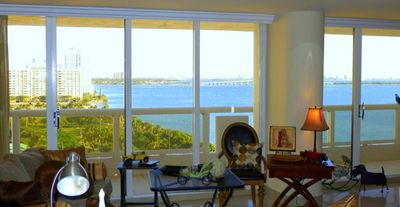Miami condo rental - MIAMI Lovely Bay View. Vacation rental. 1480 sqft . Terrasse 220 sqft
