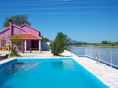 CHARMING HOUSE WITH PRIVATE POOL ON THE RIVERSIDE, NEAR DUBROVNIK