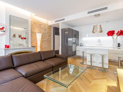 Design exceptional 74m2 Apartment Place Bellecour (City center) 2 bedrooms