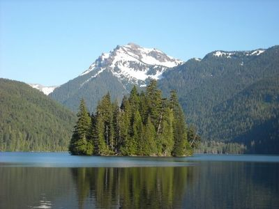 Packwood Lake is a popular hike only a few miles away!
