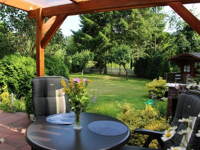 "Vacation home ""Am Wald"" w/large lawn in Wingst in the Elbe-Weser triangle"