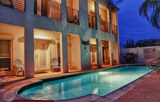 South Padre Island condo photo - Relax by the pool in the evenings