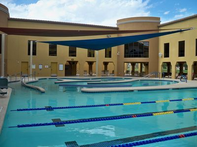 One of seven community pools and recreation centers
