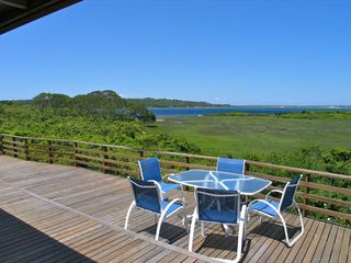 Chilmark cottage photo - Deck with View
