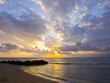 Kapaa condo rental - You'll be steps away from gorgeous sandy Waipouli Beach!