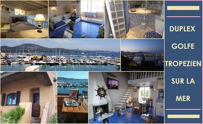 """CLOSE TO 3,5 KM FROM SAINT TROPEZ ONLY ! WONDERFUL APPARTMENT ON THE SEA AT """"COGOLIN MARINA"""""""