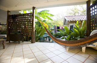 Tamarindo studio photo - The hammock on the 'Orange' patio.