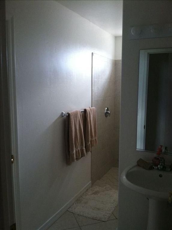 3rd bathroom with walk in shower (this is between rooms 3 and 4