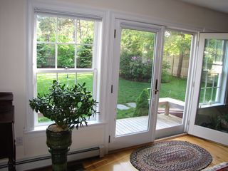 Oak Bluffs house photo - French doors to deck