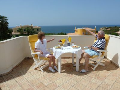 Carvoeiro villa rental - FIRST FLOOR TERRACE